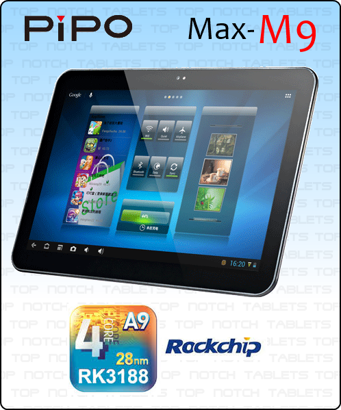 PiPo Max M9 - Top Notch Tablets